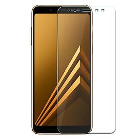 Недорогие Чехлы и кейсы для Galaxy A-Samsung GalaxyScreen ProtectorA8 2018 HD Защитная пленка для экрана 1 ед. Закаленное стекло