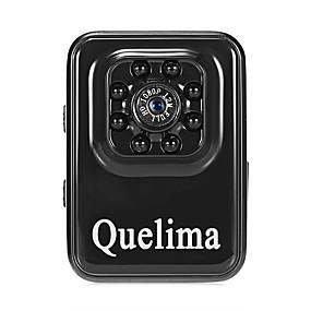 voordelige Auto DVR's-Quelima Quelima R3 1080p Mini / Nacht Zicht / Dubbele lens Auto DVR 120 graden Wijde hoek CMOS Neen Dash Cam met Bewegingsdetectie 8 infrarood LED's Autorecorder