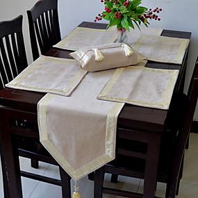 رخيصةأون شرشفات الطاولة-معاصر PVC مربع قماش طاولة هندسي الجدول ديكورات 1 pcs