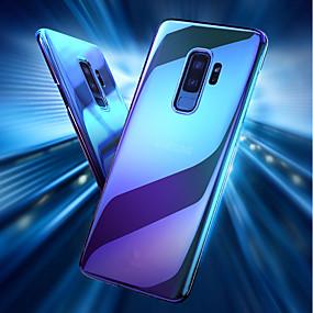 voordelige Galaxy S7 Edge Hoesjes / covers-hoesje Voor Samsung Galaxy S9 / S9 Plus / S8 Plus Transparant / Kleurgradatie Achterkant Kleurgradatie Hard PC