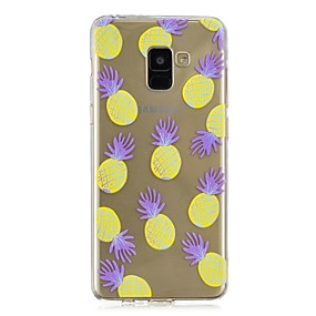 voordelige Galaxy A5(2016) Hoesjes / covers-hoesje Voor Samsung Galaxy A3 (2017) / A5 (2017) / A8+ 2018 Transparant / Patroon Achterkant Fruit Zacht TPU