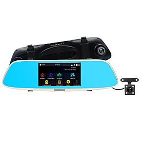 Недорогие Видеорегистраторы для авто-ziqiao jl-327 full hd 1080p 5inch ips автомобиль dvr тире камера с ночным видением автомобильная камера тире кулачок видеомагнитофон