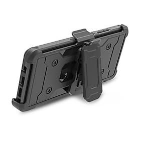 Недорогие Чехлы и кейсы для Galaxy Note 8-Кейс для Назначение SSamsung Galaxy Note 8 Защита от удара / со стендом / броня Кейс на заднюю панель броня Твердый ПК