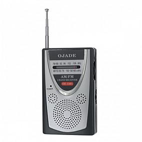 povoljno Testeri i detektori-OJADE OE-1201 Mini prijenosni AM / FM 2-band radio
