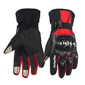 povoljno Motociklističke rukavice-RidingTribe Cijeli prst Uniseks Moto rukavice Koža / Pamučne tkanine Vodootporno / Ugrijati / Touch Screen