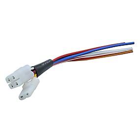 Недорогие Запчасти для мотоциклов и квадроциклов-cdi кабель жгут проводов для gy6 4 такта 125 150cc мопед скутер atv go kart