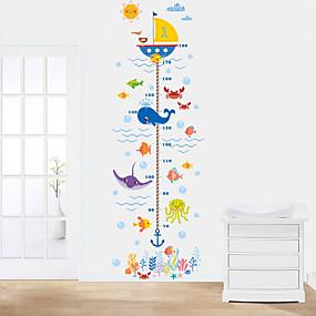 voordelige Decoratiestickers-Decoratieve Muurstickers / Opmeet Stickers - Vliegtuig Muurstickers Dieren Woonkamer / Slaapkamer / Badkamer