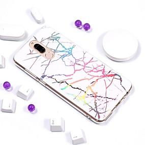 Недорогие Чехлы и кейсы для Huawei Mate-Кейс для Назначение Huawei Mate 10 / Mate 10 pro / Mate 10 lite Покрытие / IMD / С узором Кейс на заднюю панель Мрамор Мягкий ТПУ