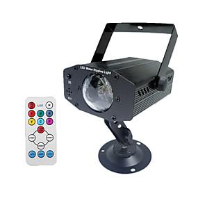 olcso Ajándék fények-1db 12 W LED projektorok Újratölthető / Távvezérlésű / Dekoratív 100-240 V Kereskedelmi / Szabadtéri / Esküvői színhely díszítés LED gyöngyök