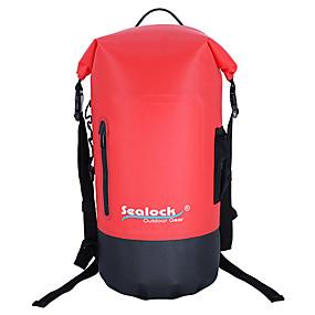 olcso Vízi sportok-Sealock 25 L Sport és szabadidő táska Könnyű Vízálló Lélegzési képesség mert Túrázás Szabadtéri gyakorlat Tengerpart
