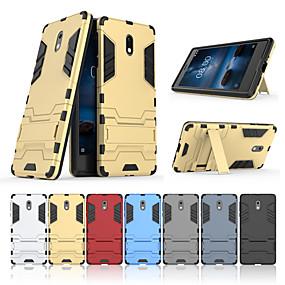 povoljno Full-body Rugged Case Super sale-Θήκη Za Nokia Nokia 3 sa stalkom Stražnja maska Jednobojni Tvrdo PC
