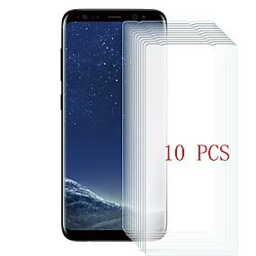 Недорогие Чехлы и кейсы для Galaxy S-Samsung GalaxyScreen ProtectorS8 Plus Уровень защиты 9H Защитная пленка для экрана 10 ед. Закаленное стекло