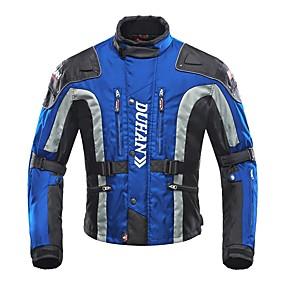 رخيصةأون السيارات & الدراجات النارية-DUHAN D023jacket ملابس نارية Jacketforالرجال قماش اكسفورد شتاء مقاومة للاهتراء / حماية / متنفس
