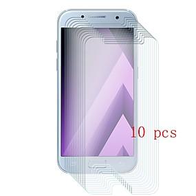 Недорогие Чехлы и кейсы для Galaxy A-Samsung GalaxyScreen ProtectorA5 (2017) Уровень защиты 9H Защитная пленка для экрана 10 ед. Закаленное стекло