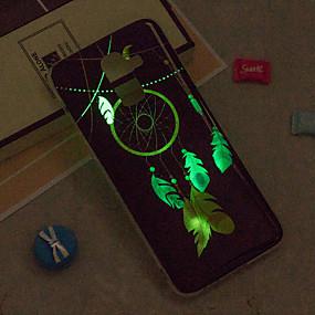 Недорогие Чехлы и кейсы для Galaxy J5(2016)-Кейс для Назначение SSamsung Galaxy J8 / J7 (2017) / J7 (2016) Сияние в темноте / IMD / С узором Кейс на заднюю панель Ловец снов Мягкий ТПУ