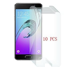 Недорогие Чехлы и кейсы для Galaxy A-Samsung GalaxyScreen ProtectorA3(2016) Уровень защиты 9H Защитная пленка для экрана 10 ед. Закаленное стекло