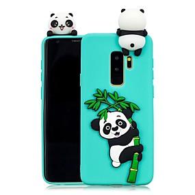 voordelige Galaxy S7 Hoesjes / covers-hoesje Voor Samsung Galaxy S9 / S9 Plus / S8 Plus DHZ Achterkant Panda Zacht TPU