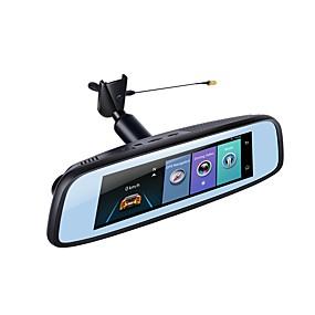 voordelige Auto DVR's-Factory OEM 1080p HD / Nacht Zicht Auto DVR 140 graden Wijde hoek 12 MP 7.85 inch(es) IPS Dash Cam met WIFI / GPS / Nacht Zicht Neen Autorecorder / Parkeermodus / Continu-opname / auto aan / uit