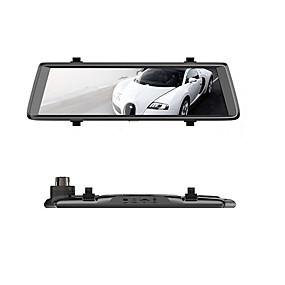 hesapli DVR samochodowe-Factory OEM F900 1080p HD / Gece görüşü Araba DVR'si 140 Derece Geniş açı 0.8 MP 9.7 inç IPS Dash Cam ile Gece görüşü / Döngü Kayıt / Döngü döngüsü kaydı Hayır Araba Kaydedici