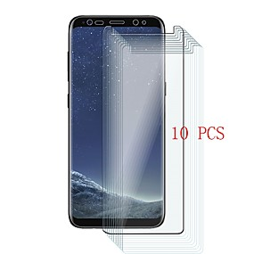 Недорогие Чехлы и кейсы для Galaxy Note-Samsung GalaxyScreen ProtectorNote 8 Уровень защиты 9H Защитная пленка для экрана 10 ед. Закаленное стекло