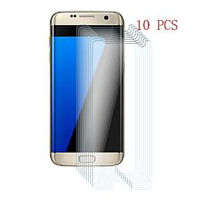 Недорогие Чехлы и кейсы для Galaxy S-Samsung GalaxyScreen ProtectorS7 edge Уровень защиты 9H Защитная пленка для экрана 10 ед. Закаленное стекло
