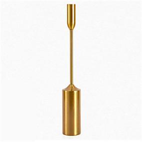 billiga Home Fragrances-Modern Järn Ljushållare Kandelaber 1st, Ljus / ljushållare