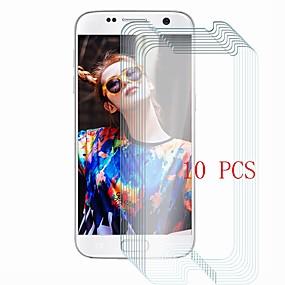 Недорогие Чехлы и кейсы для Galaxy S-Samsung GalaxyScreen ProtectorS7 Уровень защиты 9H Защитная пленка для экрана 10 ед. Закаленное стекло