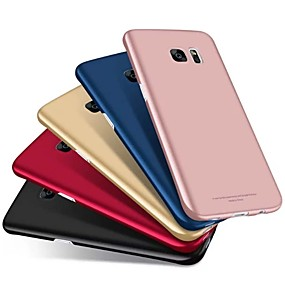 voordelige Galaxy S7 Edge Hoesjes / covers-hoesje Voor Samsung Galaxy S9 / S9 Plus / S8 Plus Mat Achterkant Effen Hard PC