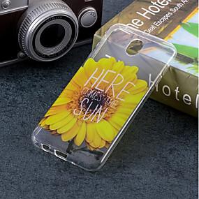 voordelige Galaxy J5(2017) Hoesjes / covers-hoesje Voor Samsung Galaxy J7 (2017) / J5 (2017) / J5 (2016) IMD / Patroon Achterkant Bloem Zacht TPU
