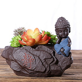 ieftine Flori Artificiale-Flori artificiale 0 ramură Clasic Modern contemporan / stil minimalist Vază Față de masă flori / Single Vase