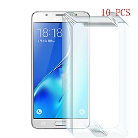 cheap Other Series Screen Protectors for Samsung-Screen Protector for Samsung Galaxy J5 (2016) Tempered Glass 10 pcs Front Screen Protector 9H Hardness / Scratch Proof