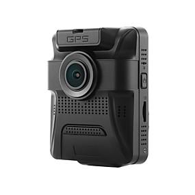 hesapli DVR samochodowe-GS65H 480p / 720p / 960p HD / Gece görüşü Araba DVR'si 150 Derece / 130 Derece Geniş açı 12 MP 2.4 inç LCD Dash Cam ile GPS / Gece görüşü / G-Sensor Hayır Araba Kaydedici / 1080p / Döngü Kayıt
