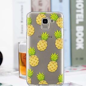 voordelige Galaxy J5(2017) Hoesjes / covers-hoesje Voor Samsung Galaxy J7 (2017) / J6 / J5 (2017) Transparant / Patroon Achterkant Fruit Zacht TPU
