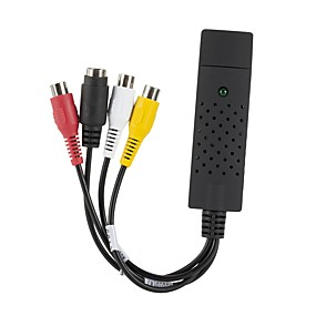 olcso Adapterek-USB 2.0 - DVI / 1RCA Papa - papa <1m / 3ft