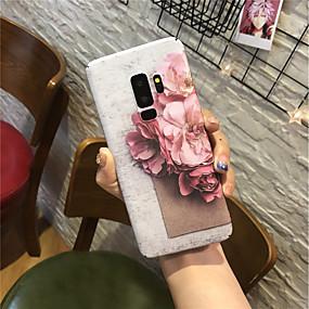 voordelige Galaxy S7 Edge Hoesjes / covers-hoesje Voor Samsung Galaxy S9 / S9 Plus / S8 Plus Mat Achterkant Bloem Hard PC