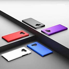 Недорогие Чехлы и кейсы для Galaxy Note 8-Кейс для Назначение SSamsung Galaxy Note 9 / Note 8 Ультратонкий / Матовое Кейс на заднюю панель Однотонный Твердый ПК