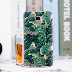 voordelige Galaxy J3 Hoesjes / covers-hoesje Voor Samsung Galaxy J7 (2017) / J6 / J5 (2017) Transparant / Patroon Achterkant Boom Zacht TPU