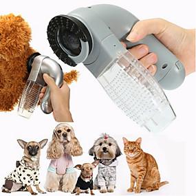 economico Prodotti Per Animali-Prodotti per cani Prodotti per gatti Pulizia Accessori per doccia e vasca Plastica Elastici Pennelli Casual Animali domestici Prodotti per toelettatura Grigio 1