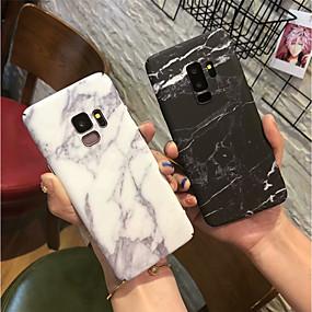 voordelige Galaxy S7 Hoesjes / covers-hoesje Voor Samsung Galaxy S9 / S9 Plus / S8 Plus Mat Achterkant Marmer Hard PC