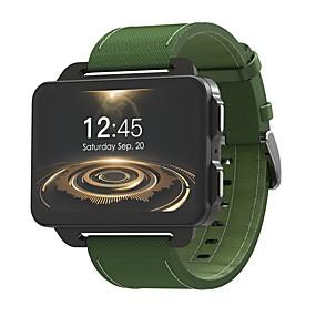 Недорогие Smart Watch Phone-KING-WEAR® DM99 Мужчины Смарт Часы Android 3G Bluetooth Спорт Водонепроницаемый Пульсомер Сенсорный экран Израсходовано калорий / WCDMA (850/2100MHz) / Хендс-фри звонки / Игры / Таймер / Педометр