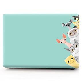 "povoljno MacBook Air 13"" maske-MacBook Slučaj Životinja plastika za MacBook Pro 13"" / MacBook Air 11"" / MacBook Pro 13-inch cu ecran Retina"