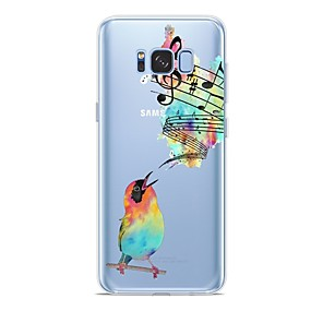 voordelige Galaxy S6 Edge Plus Hoesjes / covers-hoesje Voor Samsung Galaxy S9 / S9 Plus / S8 Plus Patroon Achterkant dier Zacht TPU