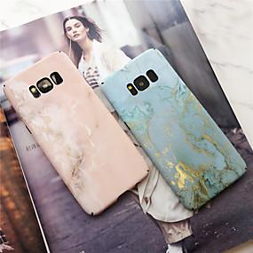 voordelige Galaxy S7 Edge Hoesjes / covers-hoesje Voor Samsung Galaxy S9 / S9 Plus / S8 Plus Mat Achterkant Marmer Hard PC