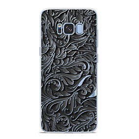 voordelige Galaxy S7 Edge Hoesjes / covers-hoesje Voor Samsung Galaxy S9 / S9 Plus / S8 Plus Patroon Achterkant Lijnen / golven Zacht TPU