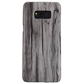 voordelige Galaxy S6 Edge Plus Hoesjes / covers-hoesje Voor Samsung Galaxy S8 Plus / S8 / S7 edge Ultradun Achterkant Houtnerf Hard PC