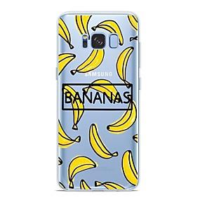 voordelige Galaxy S6 Edge Plus Hoesjes / covers-hoesje Voor Samsung Galaxy S9 / S9 Plus / S8 Plus Patroon Achterkant Fruit Zacht TPU