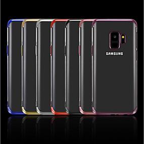 Недорогие Чехлы и кейсы для Galaxy A7(2016)-Кейс для Назначение SSamsung Galaxy A5(2018) / A6 (2018) / A6+ (2018) Покрытие / Прозрачный Кейс на заднюю панель Однотонный Мягкий ТПУ