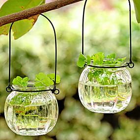 olcso Home Fragrances-Modern Kortárs Üveg Gyertyatartók Kendeláberek 1db, Gyertya / gyertyatartó