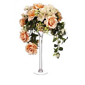 levne Home Fragrances-evropský styl sklo Svícny Svícen 1ks, Svíčka / držák svíčky