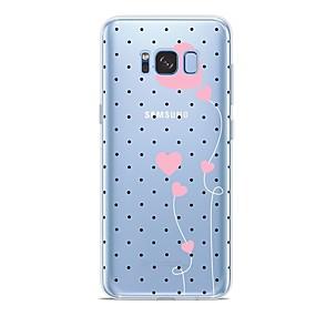 voordelige Galaxy S7 Edge Hoesjes / covers-hoesje Voor Samsung Galaxy S9 / S9 Plus / S8 Plus Patroon Achterkant Hart Zacht TPU